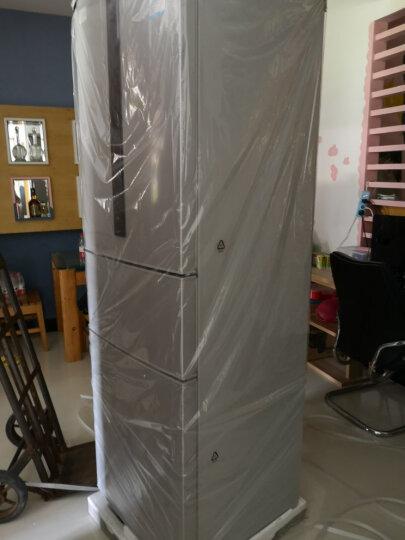 松下(Panasonic)318升变频风冷无霜三门冰箱 高效节能抗菌除味 NR-C32WP2-S(BCD-316WPCB-S) 晒单图
