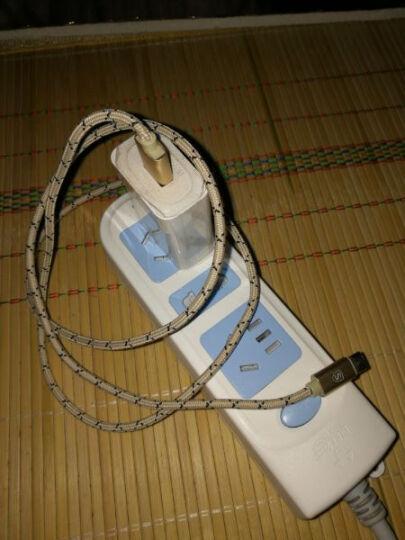 奢姿 安卓Type-c数据线手机充电线 适用华为P10/Mate10/荣耀9/三星S9/小米6等 土豪金 1米 晒单图