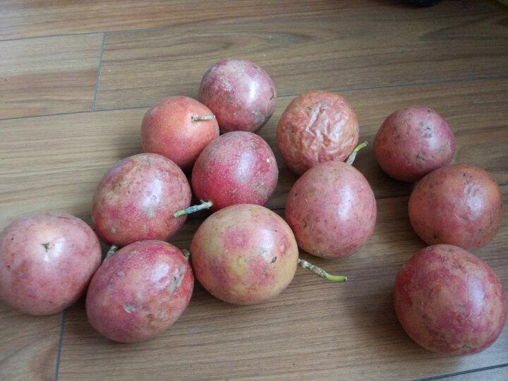 【百色馆】广西百香果 西番莲 鸡蛋果 单果50-80g 新鲜水果 24个装 晒单图