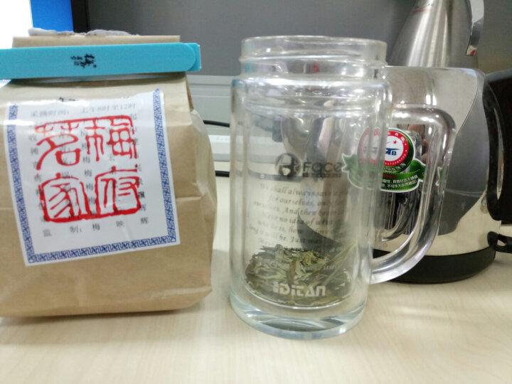 2020新茶上市 梅府茗家茶叶 茗茶 绿茶 明前龙井茶纸包装西湖250g 春茶 鲜醇 新款纸包 晒单图