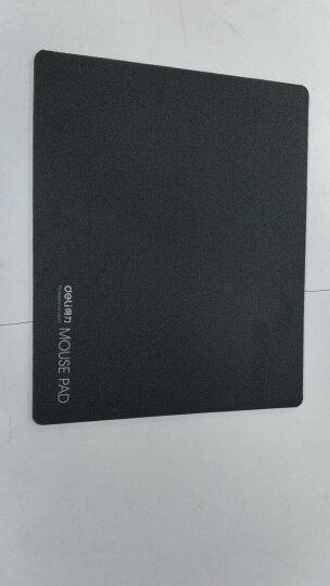 得力(deli) 3692 耐磨橡胶鼠标垫 黑色 晒单图