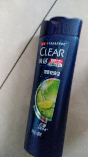 清扬(CLEAR)洗发水 男士去屑洗发露活力运动薄荷型500g(新老包装随机发) 晒单图