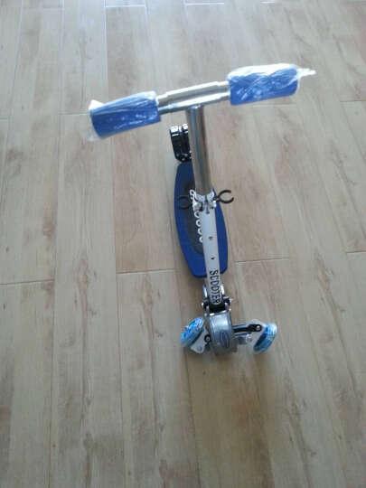 阿奇泽Aqize爬爬虫滑滑车四轮全金属材质加宽踏板滑板车 蓝色-PP踏板 晒单图
