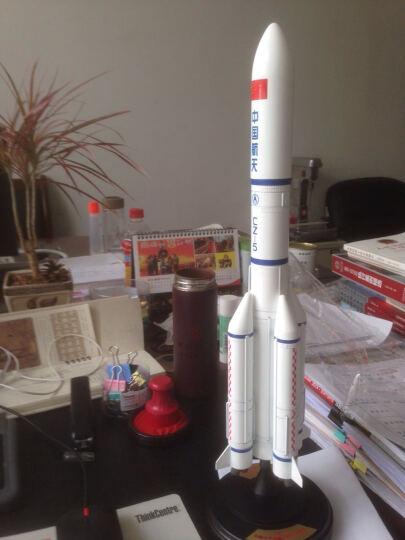 特尔博 长征5号长征2号运载火箭仿真合金属模型 航空航天军事模型 1/150长征5号铝盒箱--高46厘米左右 晒单图