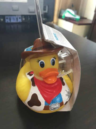 全球购 美国正品 麦肯奇Munchkin麦肯齐 感温小鸭子 洗澡玩具遇热变色 不含BPA 牛仔小鸭 晒单图