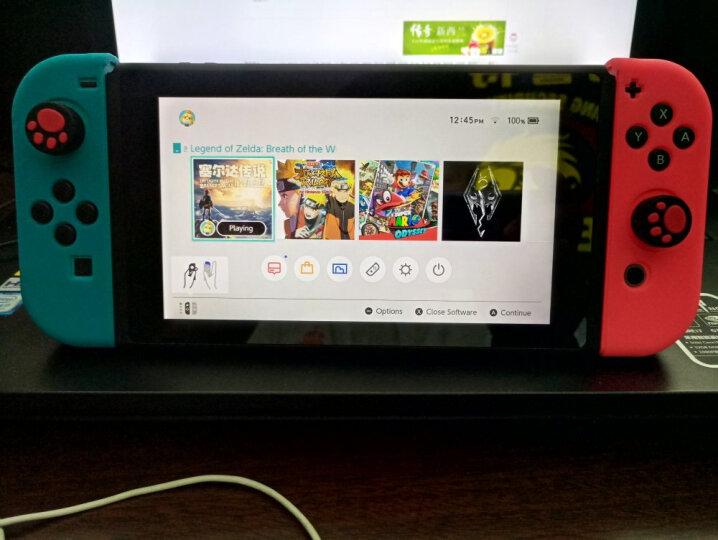 任天堂(Nintendo) Switch掌上便携游戏机 ns游戏手柄 任天堂switch ns游戏卡 游戏卡 马里奥与疯狂兔子王国之战 晒单图