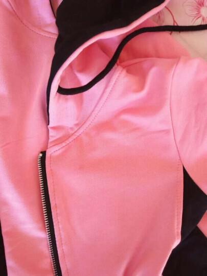 【三件套】马可小熊童装女童套装春秋款三件套运动休闲儿童新品中大童字母DD6987 粉色 160(建议身高150cm) 晒单图