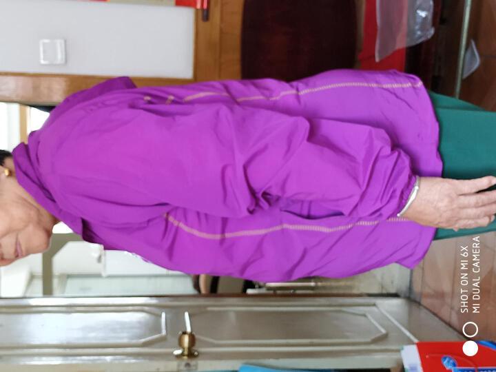 森州狼爪防晒衣男女皮肤衣户外风衣徒步速干防紫外线防水透气超轻薄防晒服 女款-紫色 XXL 晒单图