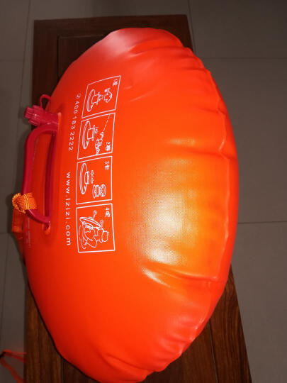 浪姿(LangZi) 浪姿可装手机钥匙衣物储物游泳圈游泳包浮漂流装备跟屁虫906 桔色(改进型) 晒单图