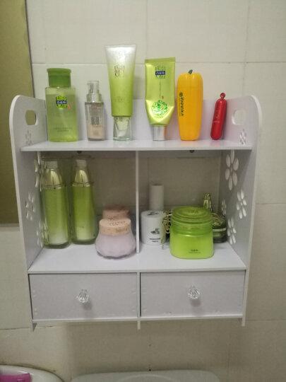 柯纳斯顿(koenaston) 韩版创意DIY桌面化妆品收纳盒收纳架 浴室带抽屉置物架 大号化妆架 晒单图