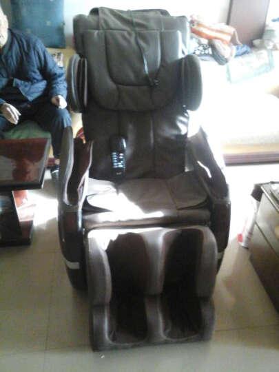 怡禾康 按摩椅家用YH-D100B定点定位全身电动豪华按摩沙发椅 卡其色 晒单图