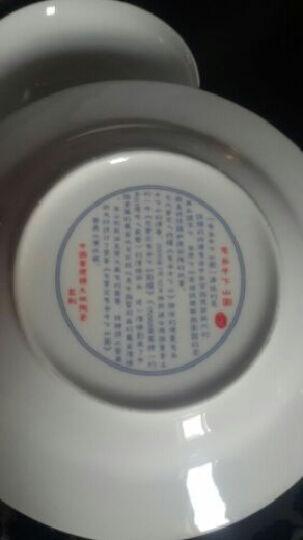 仿元青花瓷餐具九域骨瓷餐具 陶瓷器碗碟套装72头青花瓷餐具鬼谷子下山 晒单图