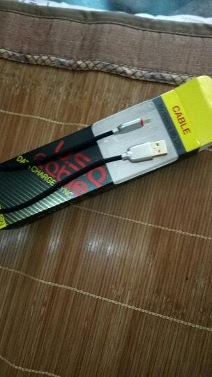 魔风者 手机闪电快充线/数据线/充电器线 适用于 编织-中国红-2a/3a快充 小米红米6/6a/6pro红米5/5A/5plus 晒单图