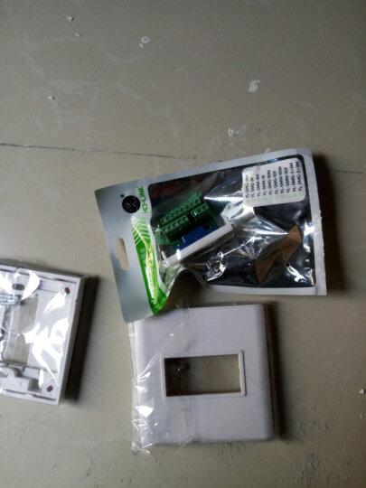 HD-LINK 86型 VGA3+9 15针VGA面板 VGA插座 1位VGA面板 免焊接 电脑墙插 晒单图