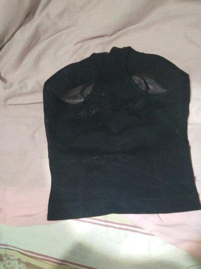 淑索收腹衣燃脂瘦身衣连体 收腹 燃脂收复腰带吸脂塑身裤产后塑身衣分体套装美体收腰束身衣塑身 普通款黑色 2XL(适合体重120-130斤) 晒单图