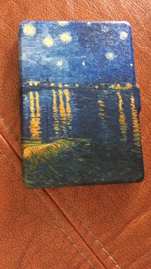 柏图 适配Kindle 958版保护套/壳 Kindle Paperwhite 1/2/3代 电纸书休眠皮套 白色-梵高星夜 晒单图