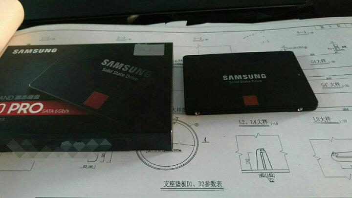 三星(SAMSUNG)860PRO 256G/512G/1T/2T/4T MLC颗粒SATA固态硬盘 512G【MZ-76P512B】 晒单图