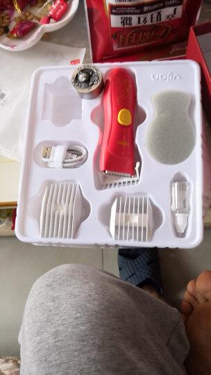易简(yijian)婴儿儿童理发器 新生儿超静音理发器 宝宝防水剃头器 电推剪电动理发器 狗年臻享礼盒送胎毛盒 晒单图