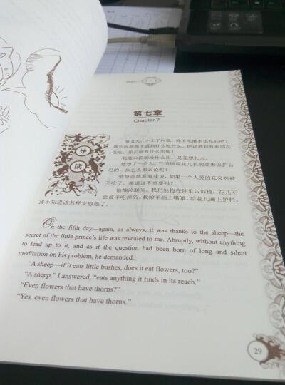 小王子(名著双语读物·中文导读+英文原版) 晒单图