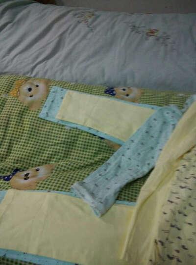 诺宜月子服孕妇哺乳衣秋衣秋裤保暖内衣套装 心形黄色印花 L码 晒单图