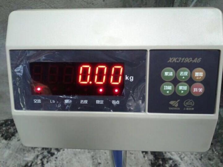 上海耀华电子秤100kg150kg200kg300kg台秤落地称计重秤地磅工业秤 200kg精度10g 晒单图