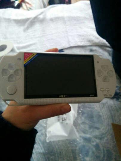 小霸王儿童玩具掌上psp游戏机S800彩屏GBA掌机电玩怀旧经典街机学习机 浅蓝色 晒单图