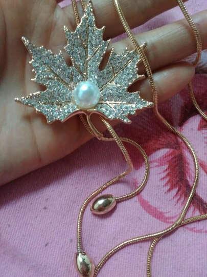 瑞瑟妮项链女毛衣链长款 配饰 衣服装饰品挂件 玫瑰金 晒单图