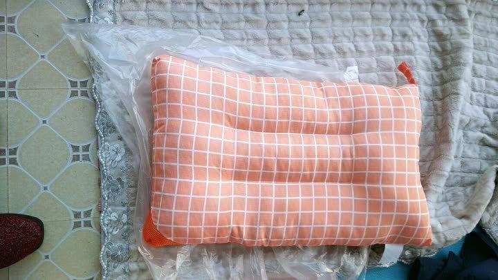 北极绒 枕头家纺 (仪征)羽丝绒枕芯高端酒店全棉立体舒适枕芯 六方格定型枕 一只装 晒单图