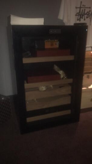 尊堡(zunbao)  进口西班牙雪松木雪茄架恒温保湿雪茄柜电子保湿柜冷藏养茄玻璃展示柜加湿除温保鲜 可调节湿度款 晒单图