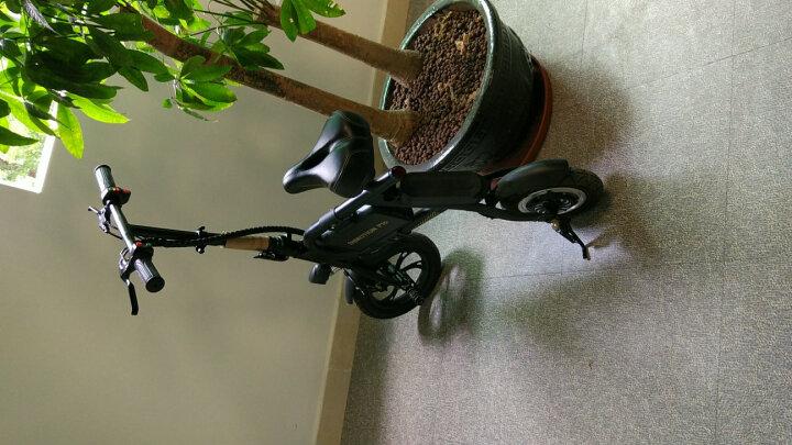 乐行天下(INMOTION)可折叠迷你亲子电动自行车P1D P1F P2电动车助力电单车电瓶车代步车 P1D法拉利红【精英版-续航约32km】 晒单图