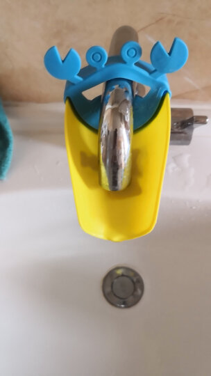 运智贝 婴儿童水龙头延伸器幼儿宝宝洗手龙头导水槽洗手延长器用品 螃蟹蓝色款随机色 晒单图