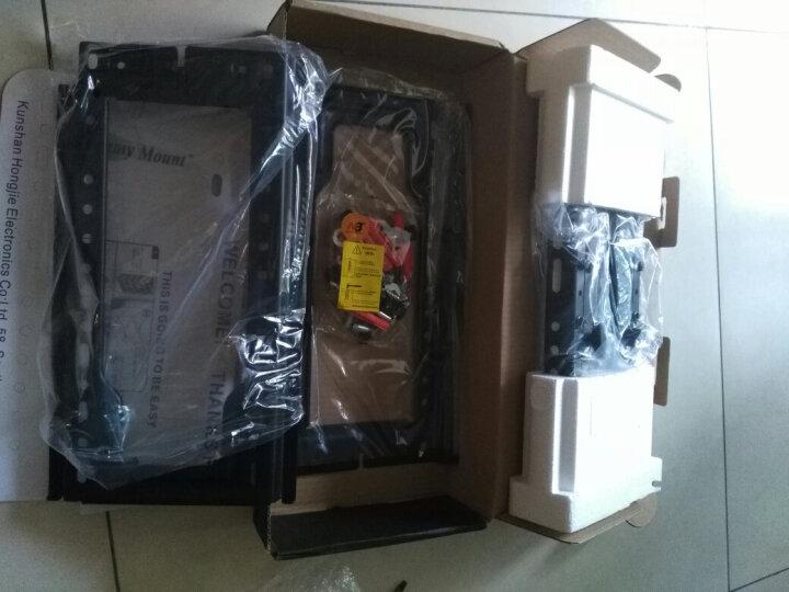 艾美(EMMYMOUNT)SP200(32寸-47英寸)液晶电视挂架旋转/伸缩电视机支架/可调电视架 黑色 晒单图