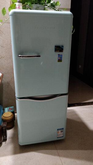 大宇(DAEWOO) 150L 复古迷你小型电冰箱双门家用无霜冷藏保鲜智能 薄荷绿色 150L ODF-M300M 晒单图
