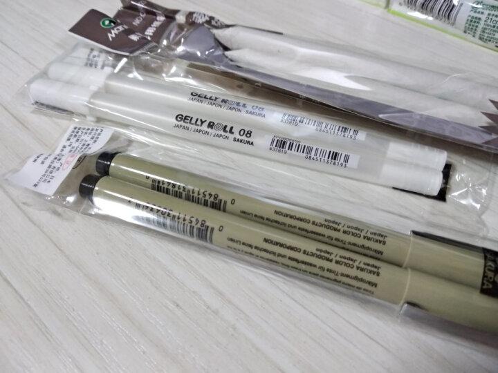 马利(Marie's)C6823素描用纸笔 3支装素描纸擦笔色粉纸擦笔 3支装纸擦笔 晒单图