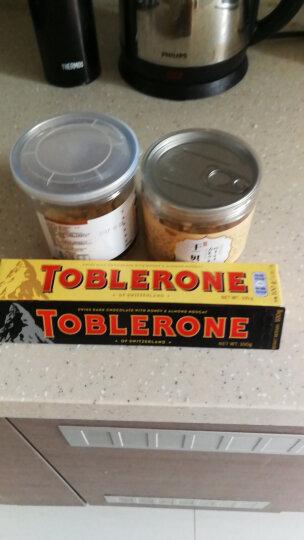 瑞士进口 三角SwissToblerone 牛奶巧克力 含蜂蜜及巴旦木糖果零食 100g 晒单图