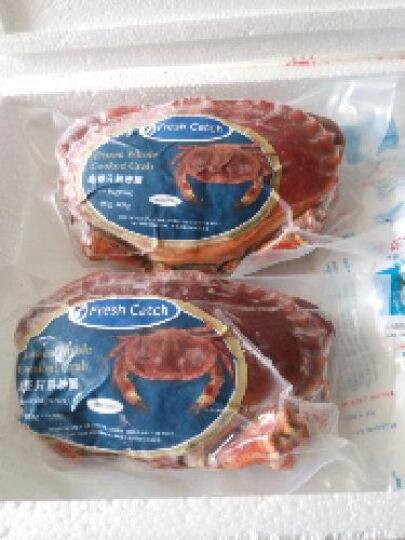 鲜动生活 爱尔兰面包蟹 400-600g 单只装 进口熟冻黄金蟹 晒单图
