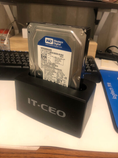 IT-CEO RAID磁盘阵列盒阵列柜 3.5英寸USB3.0+Esata 四盘位硬盘底座玩客云 SATA串口硬盘盒外置盒子 V14S3 晒单图