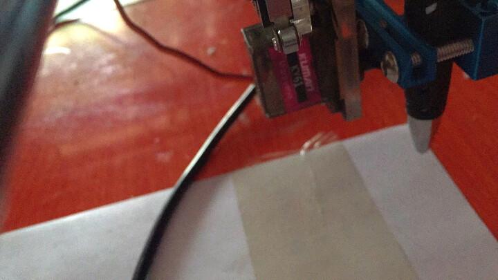 大扭力舵机适用于arduino树莓派51智能机器人固定翼航模机械臂车模遥控飞机DIY配件 55G舵机_KY62*1件 晒单图