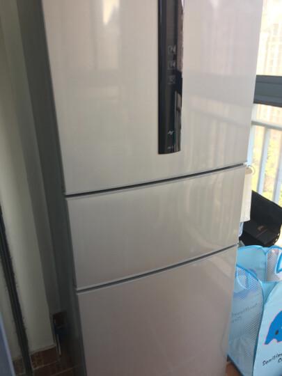 松下(Panasonic)变频风冷无霜316升三门冰箱 高效节能抗菌除味 NR-C32WP2-S(BCD-316WPCB-S) 晒单图