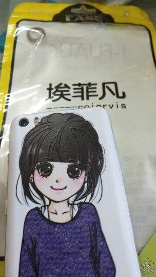 I-FUAUF 小米5电池后盖 小米5手机壳 手机保护套电池外壳 适用于小米5/MI5 小米5电池盖-阳光女孩 晒单图