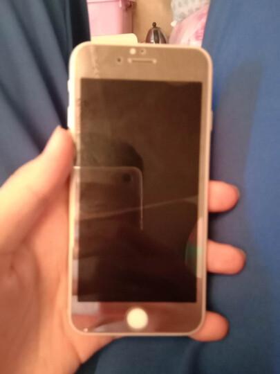 品陌 苹果iPhone8plus 情侣手机壳保护套时尚玻璃壳 5.5英寸 高贵紫前膜+背膜4.7英寸 晒单图