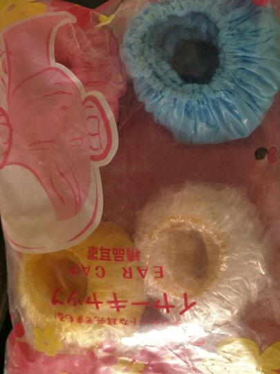 婴儿洗头洗澡防水耳套 宝宝沐浴耳罩 儿童洗发防耳朵进水耳罩 儿童款四色40个 晒单图
