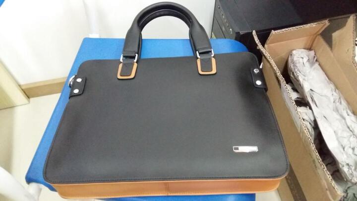 SXLLNS 男包商务单肩斜挎男士手提包男公文包包SX-D5018-3 深棕色 晒单图