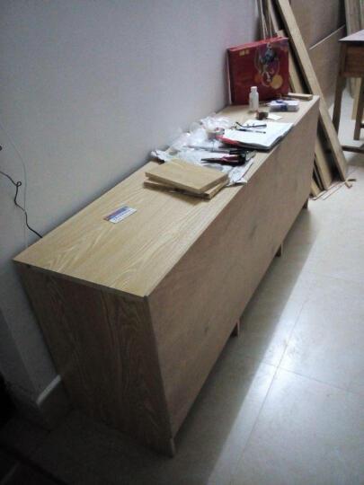 福湘木业17mmE0级生态板材实木大芯板可定做家具衣柜全国连锁大品牌免费切割封边 榆木 晒单图