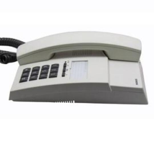 集怡嘉(Gigaset)原西门子品牌 802办公座机 家用电话机(淡灰) 晒单图