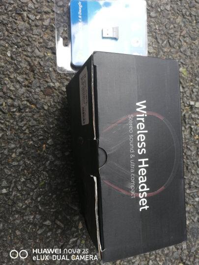 pbook 头戴式立体声无线运动蓝牙耳机 手机耳机 无线耳麦耳机 可插卡通用蓝牙运动耳机 套餐三黑红+充电头+音频线+8G内存卡+无线键盘 晒单图