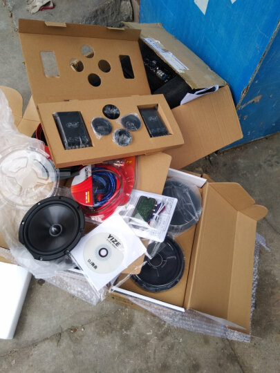 RONDO汽车音响无损改装6.5寸套装同轴车载扬声器两分频主机直推喇叭高音头低音炮DSP功放 【爆款6喇叭】MK6.2+SL650C 晒单图
