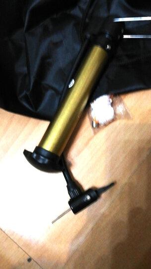 克洛斯威无缝钢管小打气筒充气筒可充篮球足球排球高压便携式迷你打气装备球类打气套装 加重PU篮球-黑色-1500克 晒单图