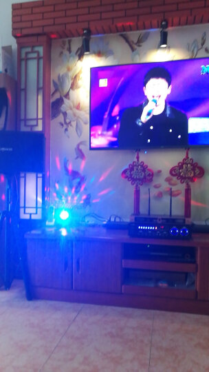 声文(SENGVEN) K19 ktv点歌机一体机家庭影院音响组合套装 卡拉ok唱歌设备 落地三角支架 全新升级版 晒单图