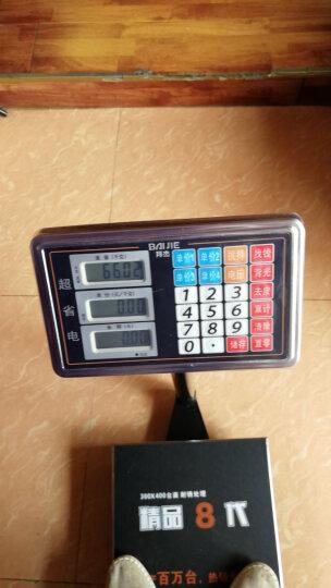 拜杰(BJ) 电子秤台秤数码电子计价秤体重秤家用人体秤快递磅秤称重商用150kg. 150kg 晒单图